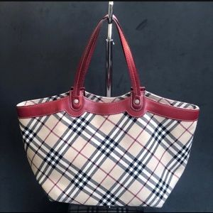 Burberry Blue Label Nova Check Tote Bag